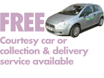 Free Courtesy Car or Collection & Delivery